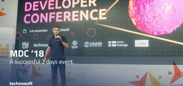 Technosoft auf der Developer Conference 2018 in Moldawien