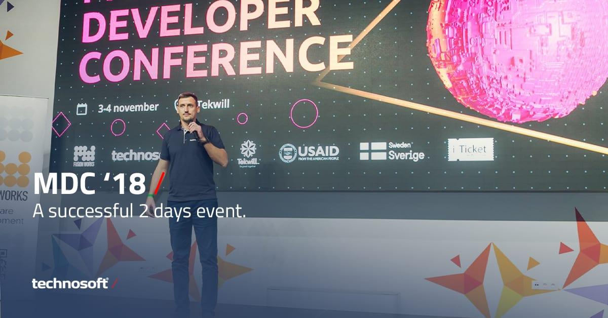 Technosoft auf der Developer Conference 2018 in Moldawien